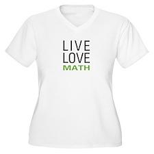 Live Love Math T-Shirt