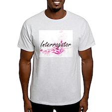 Interrogator Artistic Job Design with Flow T-Shirt
