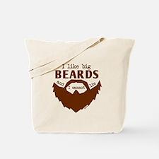 I Like Big Beards Tote Bag
