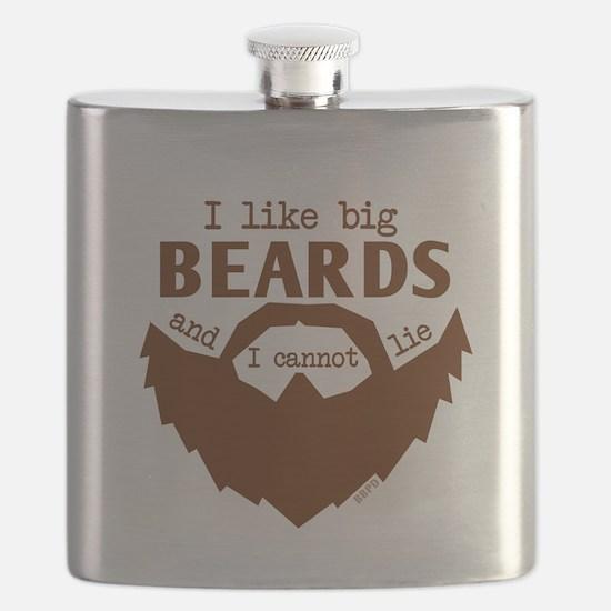 I Like Big Beards Flask