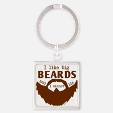 I Like Big Beards Keychains