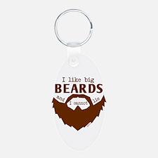 I Like Big Beards Keychains
