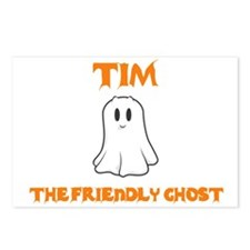 Tim the Friendly Ghost Postcards (Package of 8)