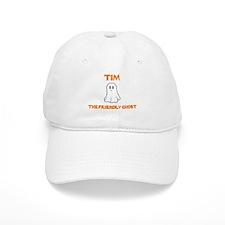 Tim the Friendly Ghost Baseball Cap