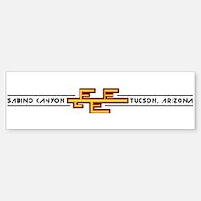 Sabino Canyon, TUCSON, ARIZONA Bumper Bumper Bumper Sticker