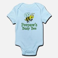 Peepaw's Busy Bee Body Suit