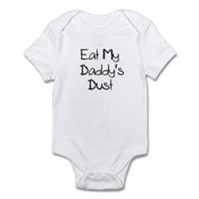 Eat My Daddy's Dust Racing Baby Shirt Bodysuit