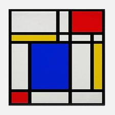 Mondrian-2b Tile Coaster