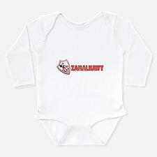 Cute Zamalek jersey Long Sleeve Infant Bodysuit