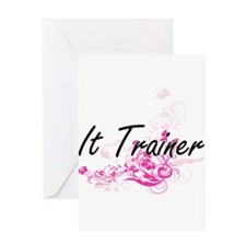 It Trainer Artistic Job Design with Greeting Cards
