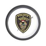 Tecate Traffic Police Wall Clock
