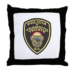 Tecate Traffic Police Throw Pillow