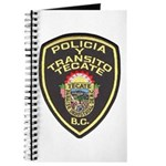 Tecate Traffic Police Journal