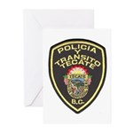 Tecate Traffic Police Greeting Cards (Pk of 20)