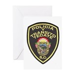 Tecate Traffic Police Greeting Card