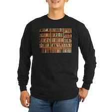 Bookshelf Books Long Sleeve T-Shirt