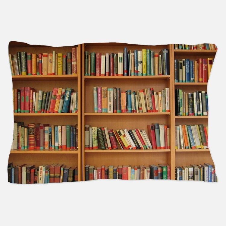 Bookshelf Books Pillow Case