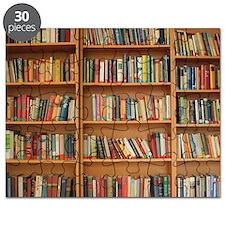 Bookshelf Books Puzzle