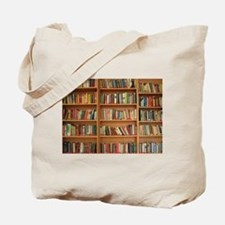 Bookshelf Books Tote Bag