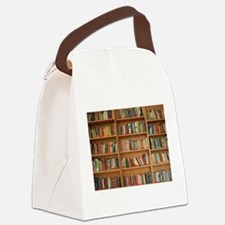 Bookshelf Books Canvas Lunch Bag