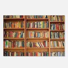 Bookshelf Books Postcards (Package of 8)