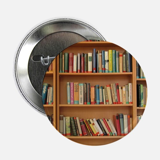 "Bookshelf Books 2.25"" Button"