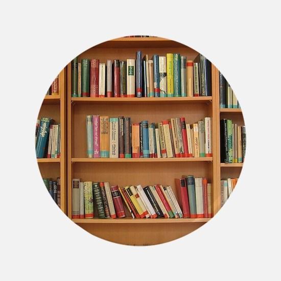 Bookshelf Books Button