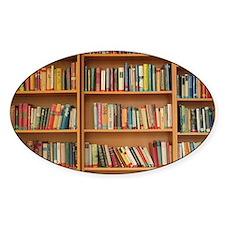 Bookshelf Books Decal