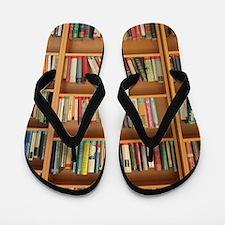 Bookshelf Books Flip Flops