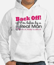 I'm taken by a Real Man! Hoodie