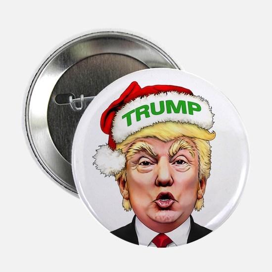 "Santa Trump 2.25"" Button"