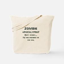 ZOMBIE APOCALYPSE? Don't worry...video ga Tote Bag
