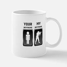 Your Boyfriend My Boyfriend Military Mugs