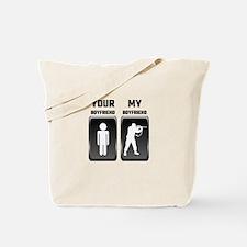 Your Boyfriend My Boyfriend Military Tote Bag