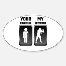 Your Boyfriend My Boyfriend Military Decal