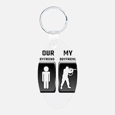 Your Boyfriend My Boyfriend Military Keychains