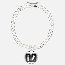 Your Boyfriend My Boyfri Charm Bracelet, One Charm