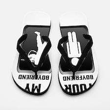 Your Boyfriend My Boyfriend Military Flip Flops
