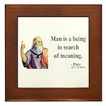 Plato 3 Framed Tile