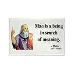 Plato 3 Rectangle Magnet (10 pack)