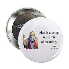 """Plato 3 2.25"""" Button"""
