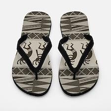 Southwest Kokopelli Flip Flops