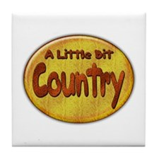 Country Western Tile Coaster