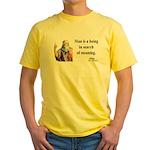 Plato 3 Yellow T-Shirt
