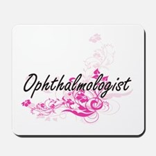 Ophthalmologist Artistic Job Design with Mousepad