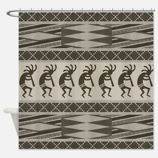 Southwest Kokopelli Shower Curtain