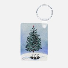 Christmas Tree Stray Cats Keychains