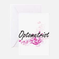 Optometrist Artistic Job Design wit Greeting Cards