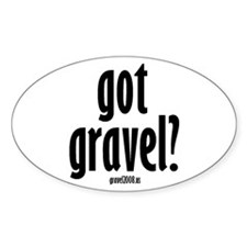 Mike Gravel Oval Decal