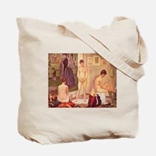 The Models by Seurat Tote Bag